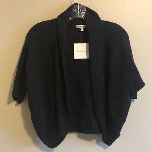 NWT Black Cropped Cardigan